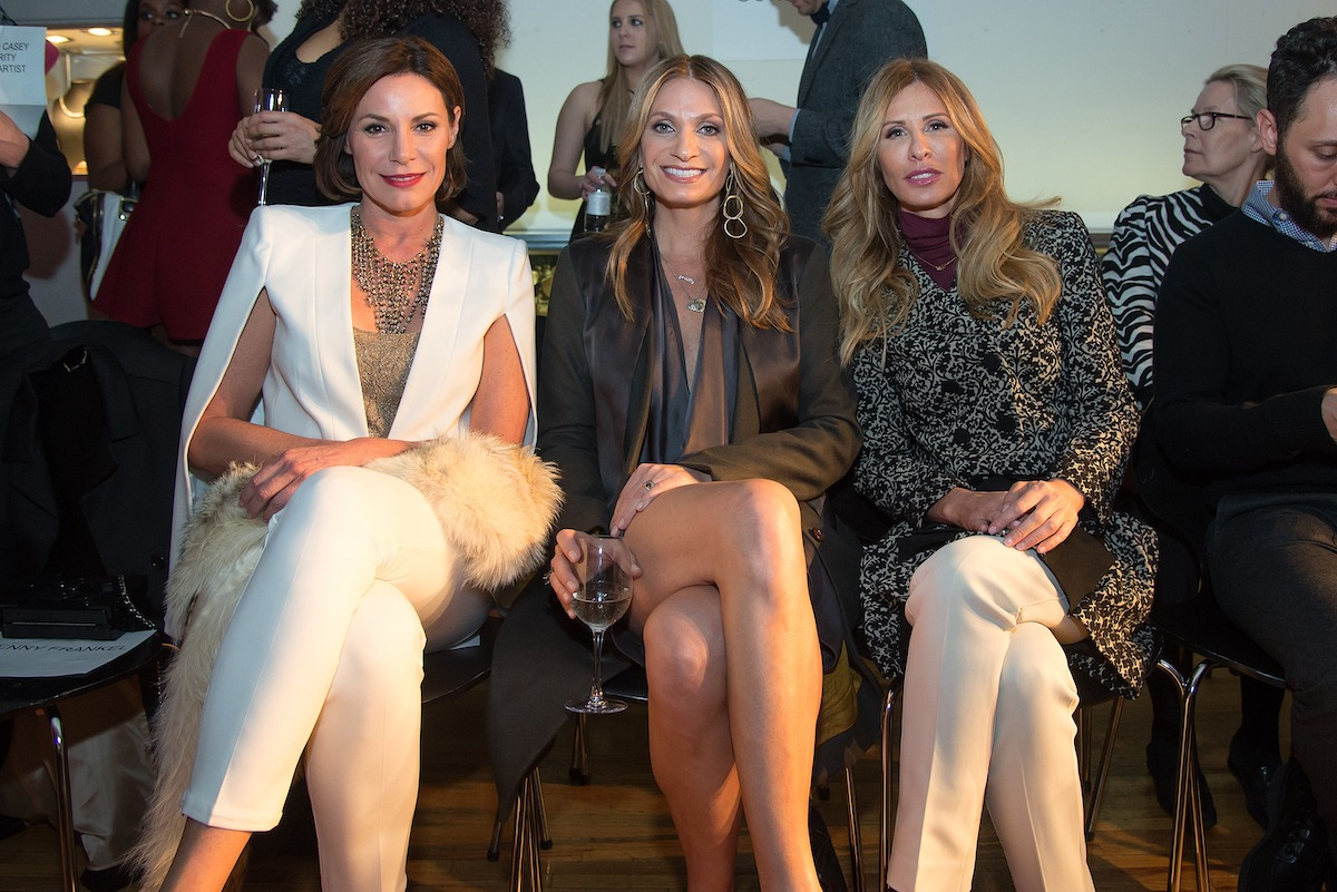 Luann de Lesseps, Heather Thomson, and Carole Radziwill from RHONY attend the Sonja Morgan New York Brands Launch Event in 2015