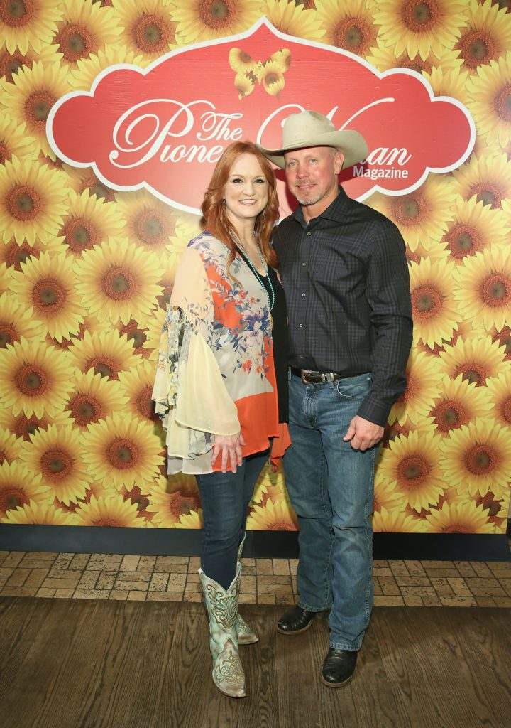 Ree Drummond and her husband, Ladd Drummond, in 2017