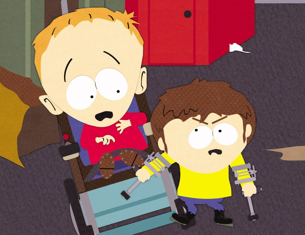 South Park episode 67 features Timmy vs. Jimmy