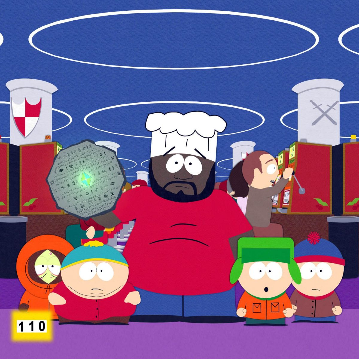 South Park counts the number of times it says the S word