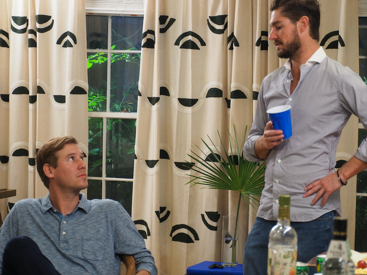 Austen Kroll, Craig Conover at a party on Southern Charm