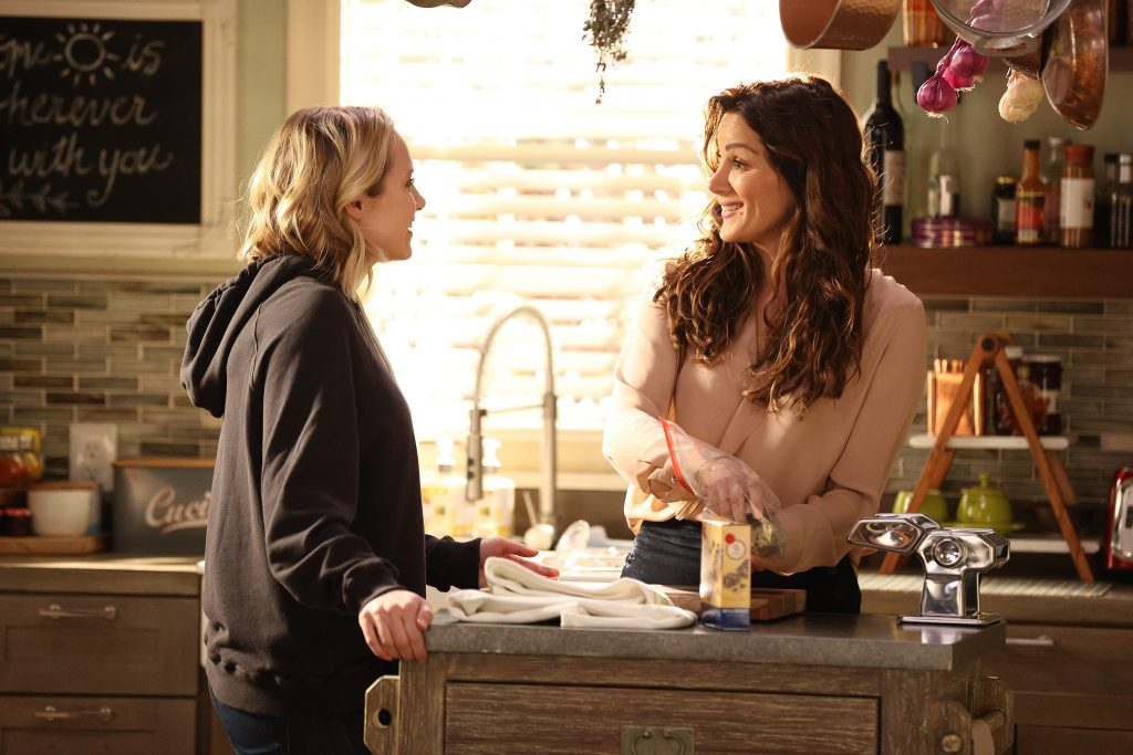 Station 19 Season 4 Finale May and Carina talk in the kitchen