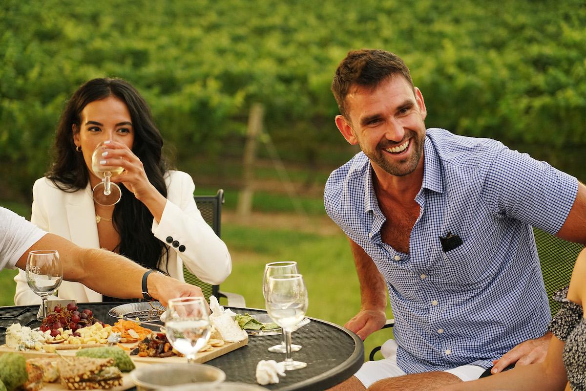 Danielle Olivera, Carl Radke have lunch on Summer House Season 5
