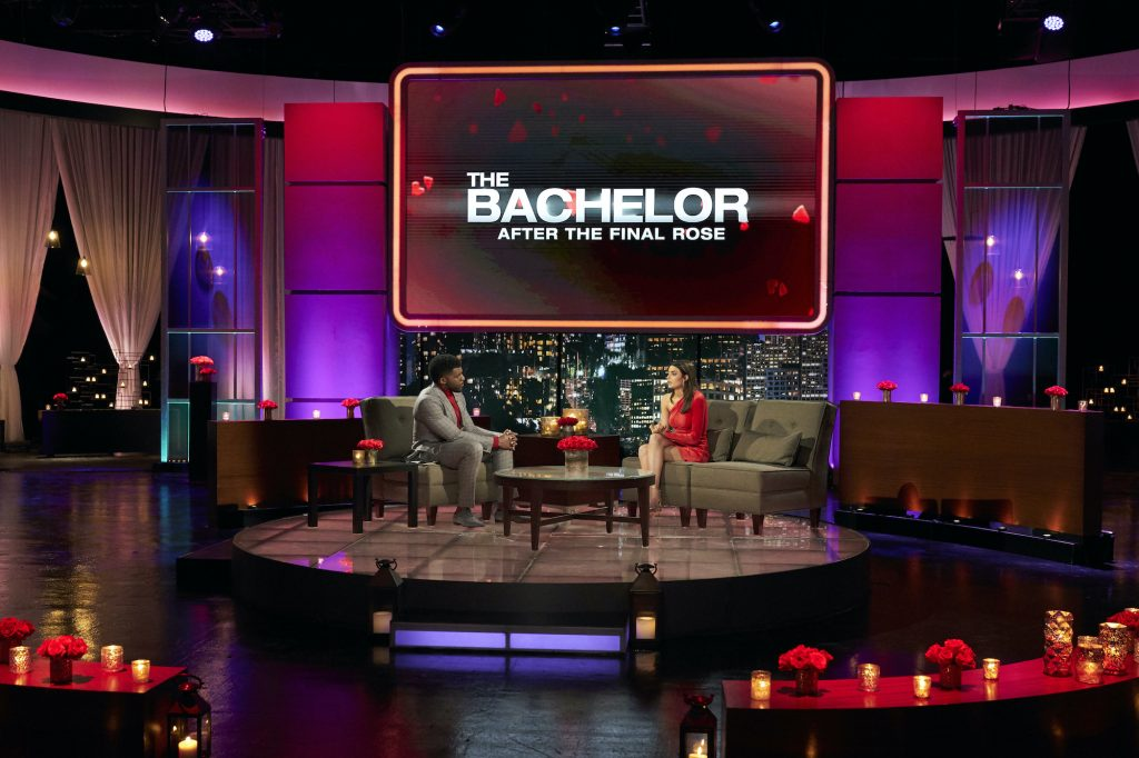 'The Bachelor' After the Final Rose stage