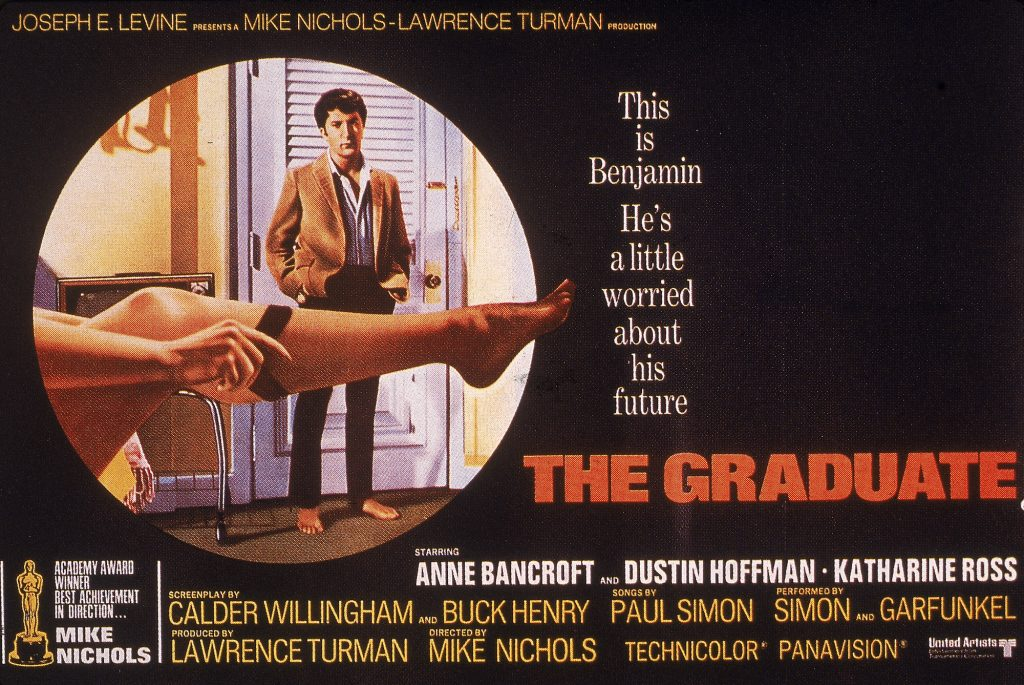 Film Poster For 'The Graduate'