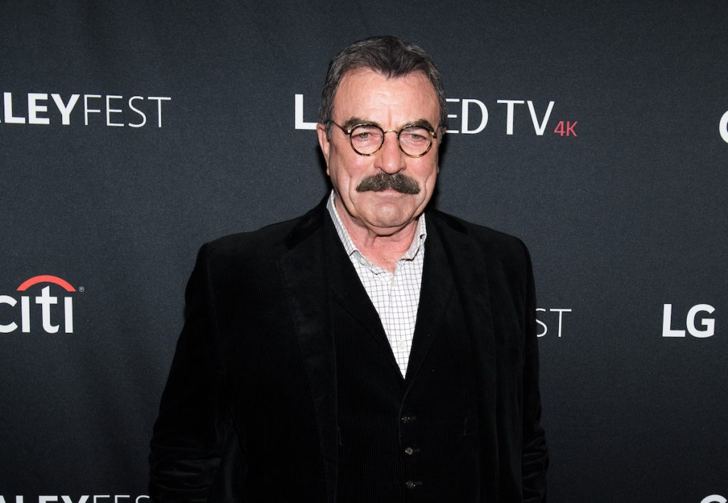 Tom Selleck attends the 'Blue Bloods' screening during PaleyFest NY 2017 at The Paley Center