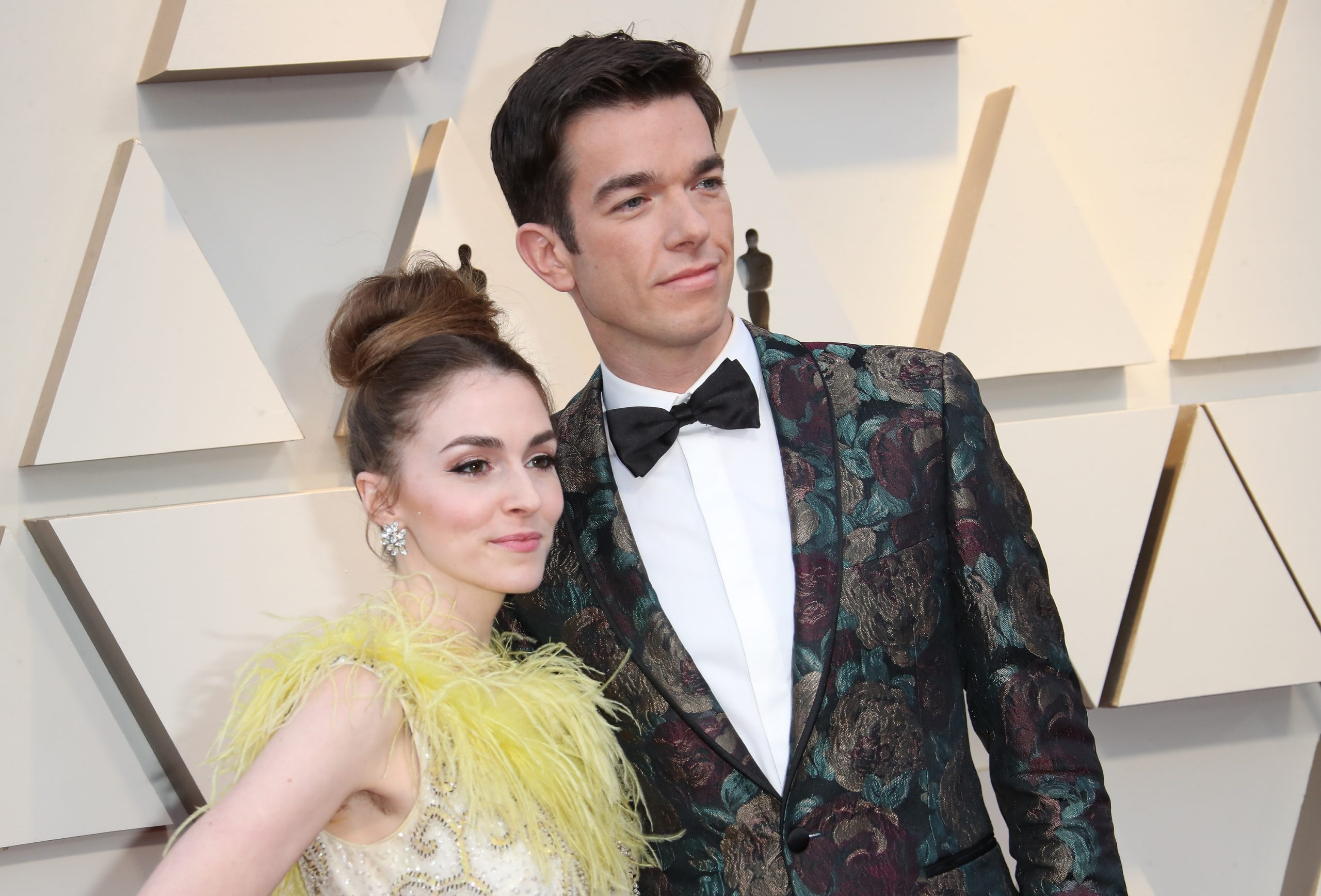 Anna Marie Tendler and John Mulaney at the 91st Annual Academy Awards at Hollywood and Highland on Feb. 24, 2019