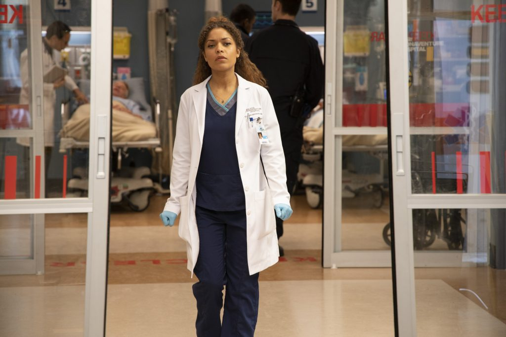 Antonia Thomas as Claire Brown on 'The Good Doctor'