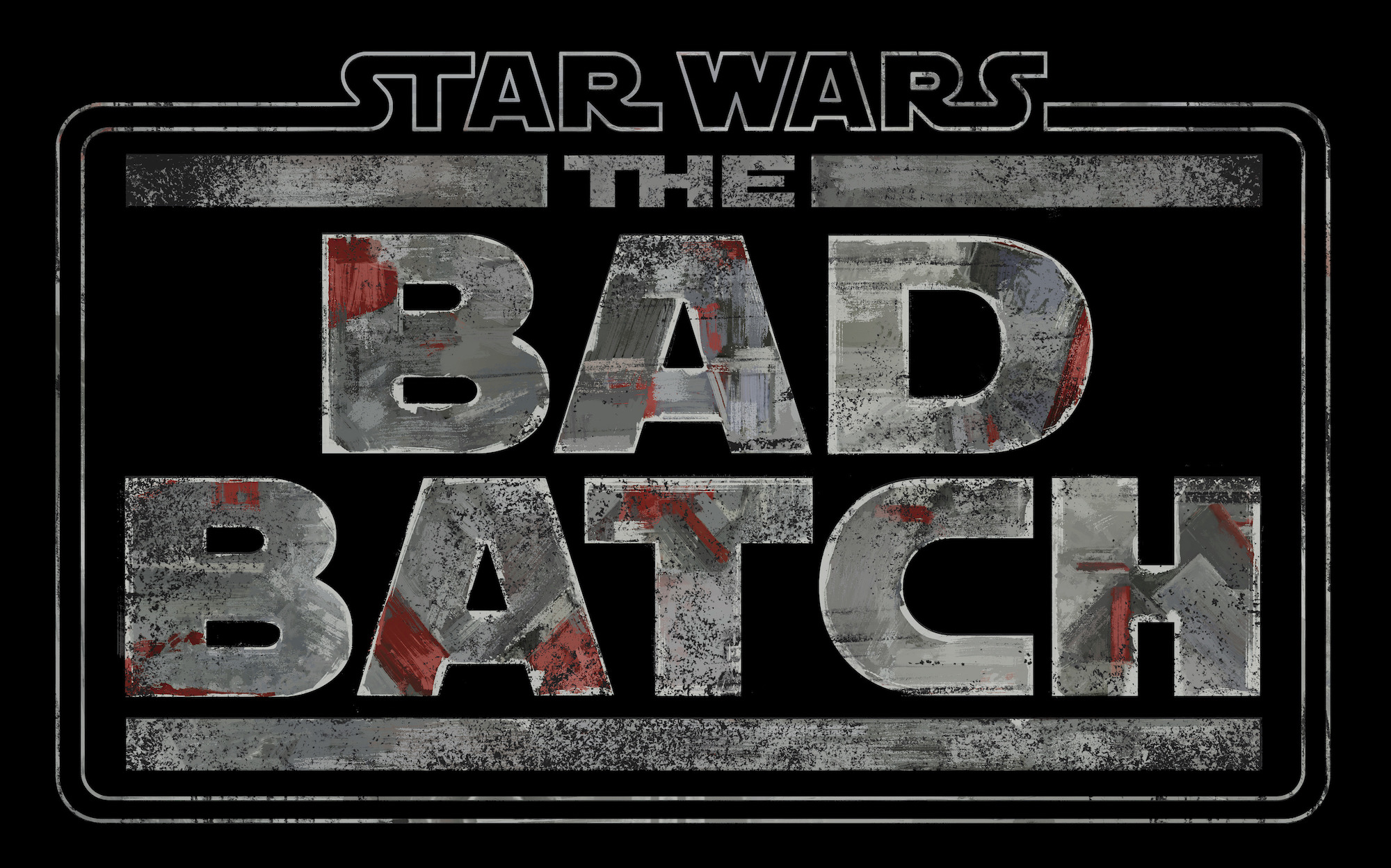 Logo for 'Star Wars: The Bad Batch'