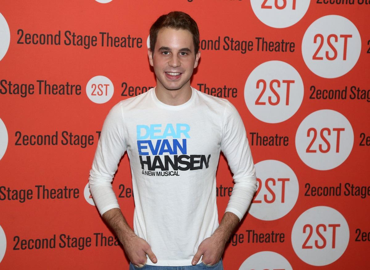 Ben Platt poses during a 'Dear Evan Hansen' Media Preview on March 16, 2016, in New York City.