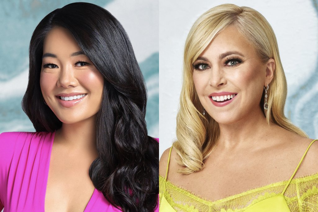 Crystal Kung Minkoff and Sutton Stracke in their 'RHOBH' cast photos