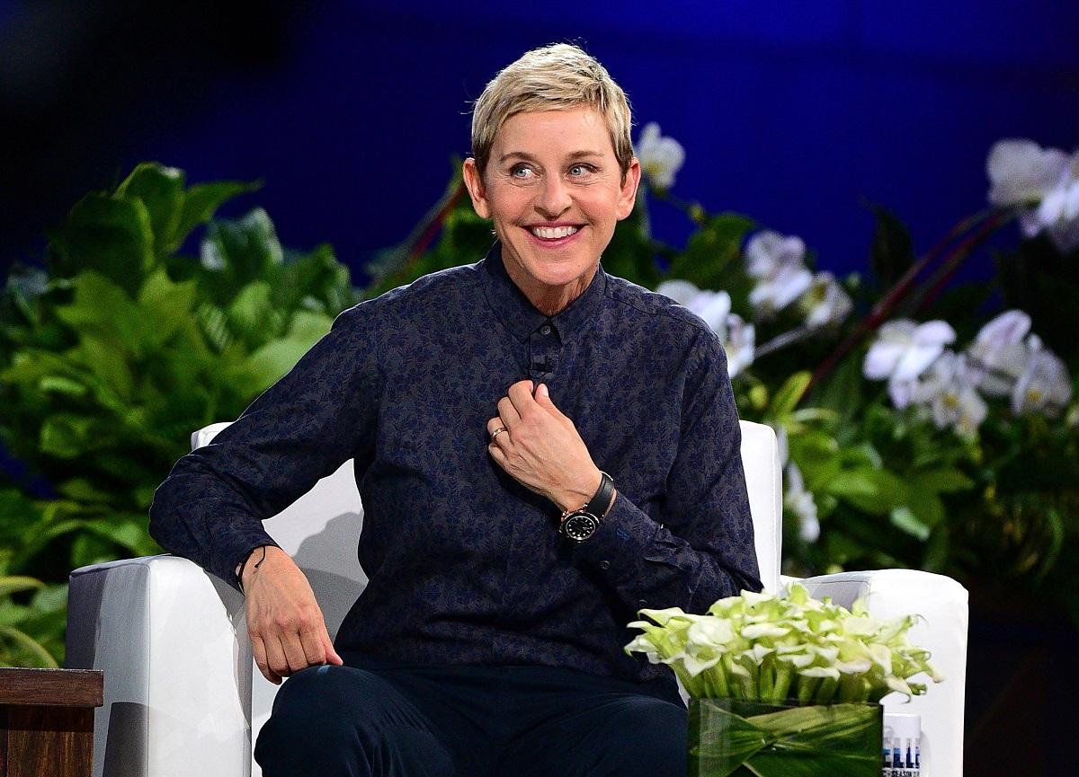 Ellen DeGeneres hosts 'The Ellen DeGeneres Show' Season 13 Bi-Coastal Premiere on September 8, 2015, in New York City.