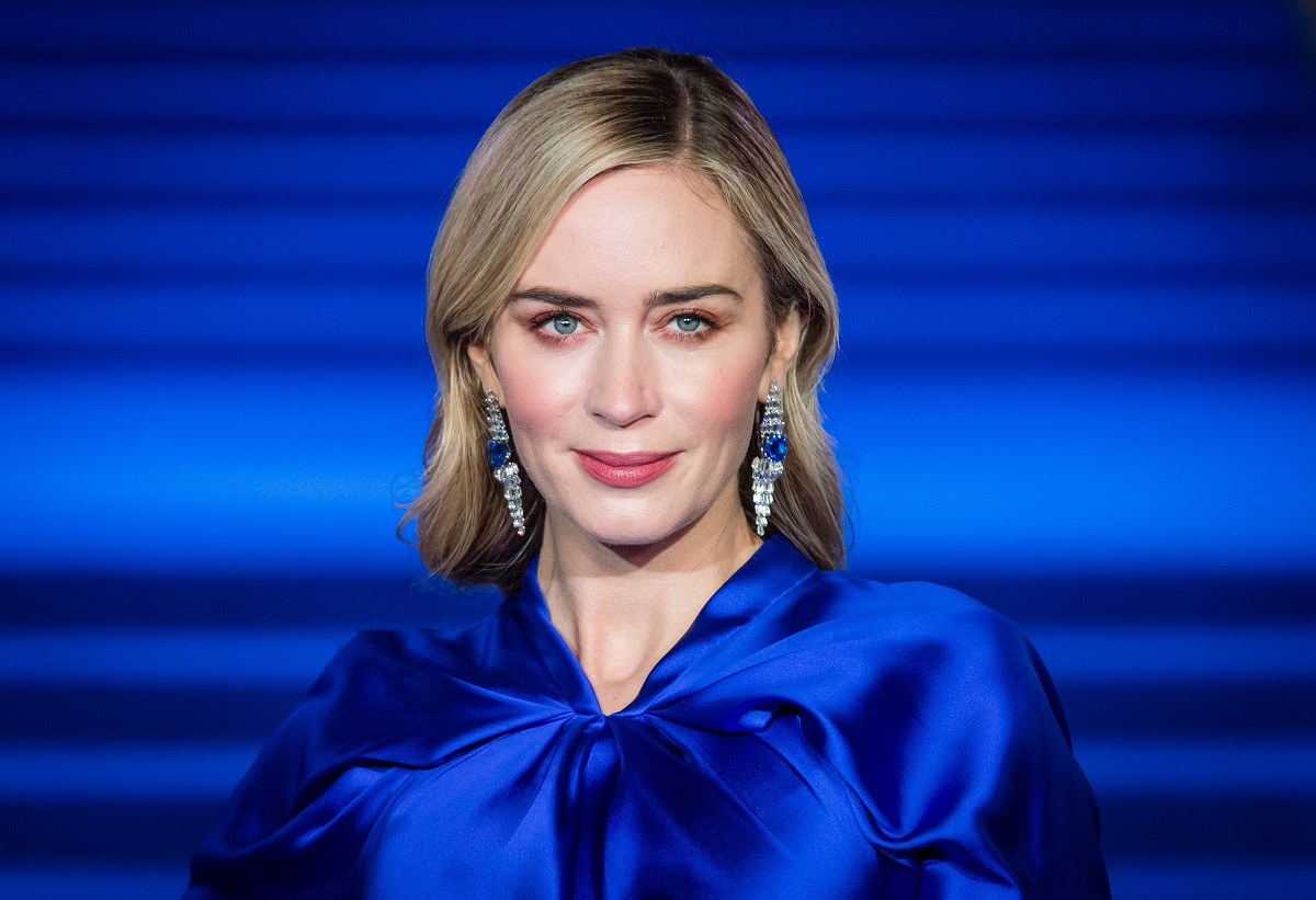 Emily Blunt attends the European Premiere of 'Mary Poppins Returns' on December 12, 2018, in London, England.