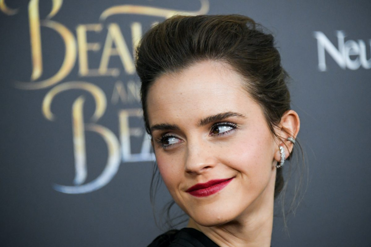 """Emma Watson attends the """"Beauty And The Beast"""" New York screening"""