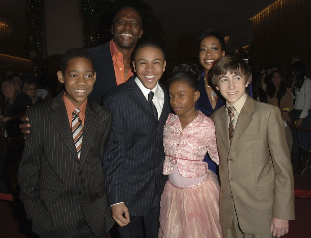 Cast of 'Everybody Hates Chris' with Terry Crews, Tichina Arnold, Tyler James Williams, Tequan Richmond, Imani Hakim and Vincent Martella attend the 8th Annual Family Television Awards in 2006