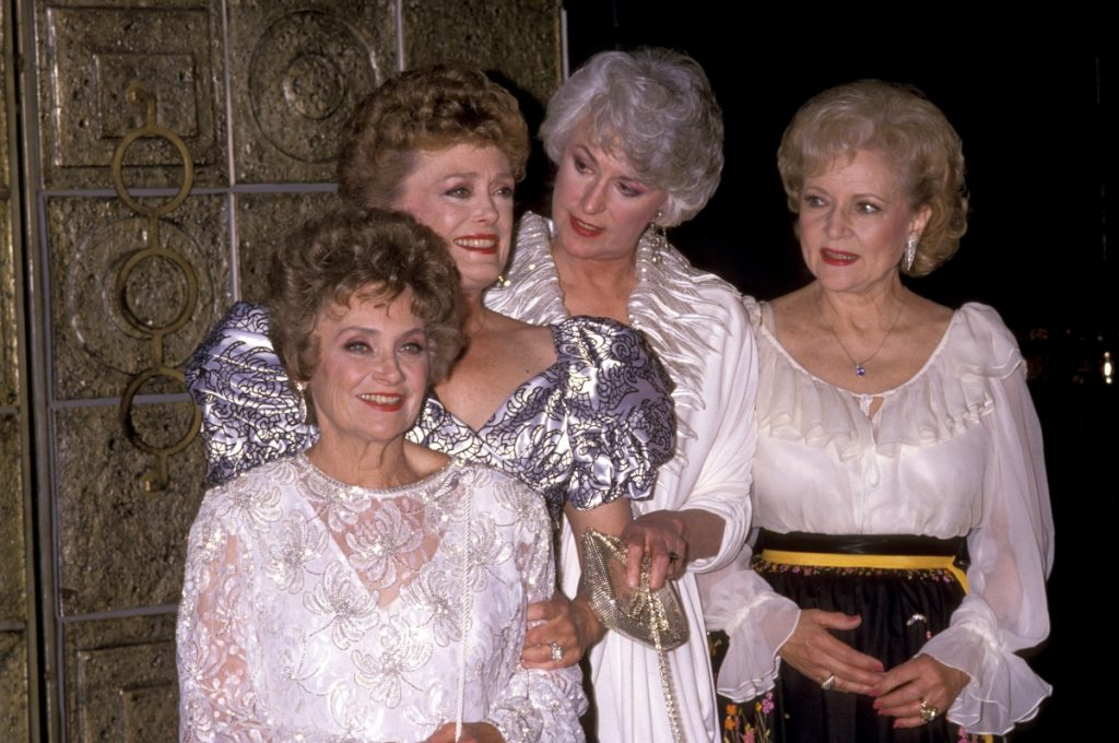 'The Golden Girls' 100th Episode Celebration with Estelle Getty, Rue McClanahan, Bea Arthur and Betty White