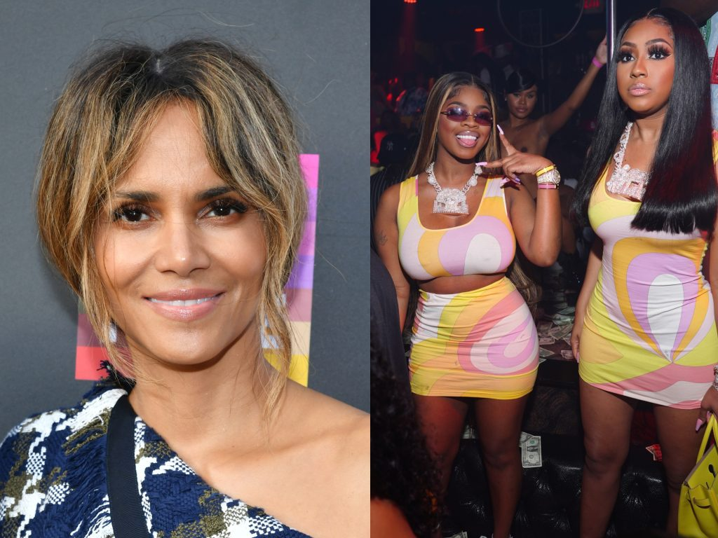Halle Berry attends 5B documentary U.S. premiere; City Girls arrive at Latto's album release party in Atlanta, 2020