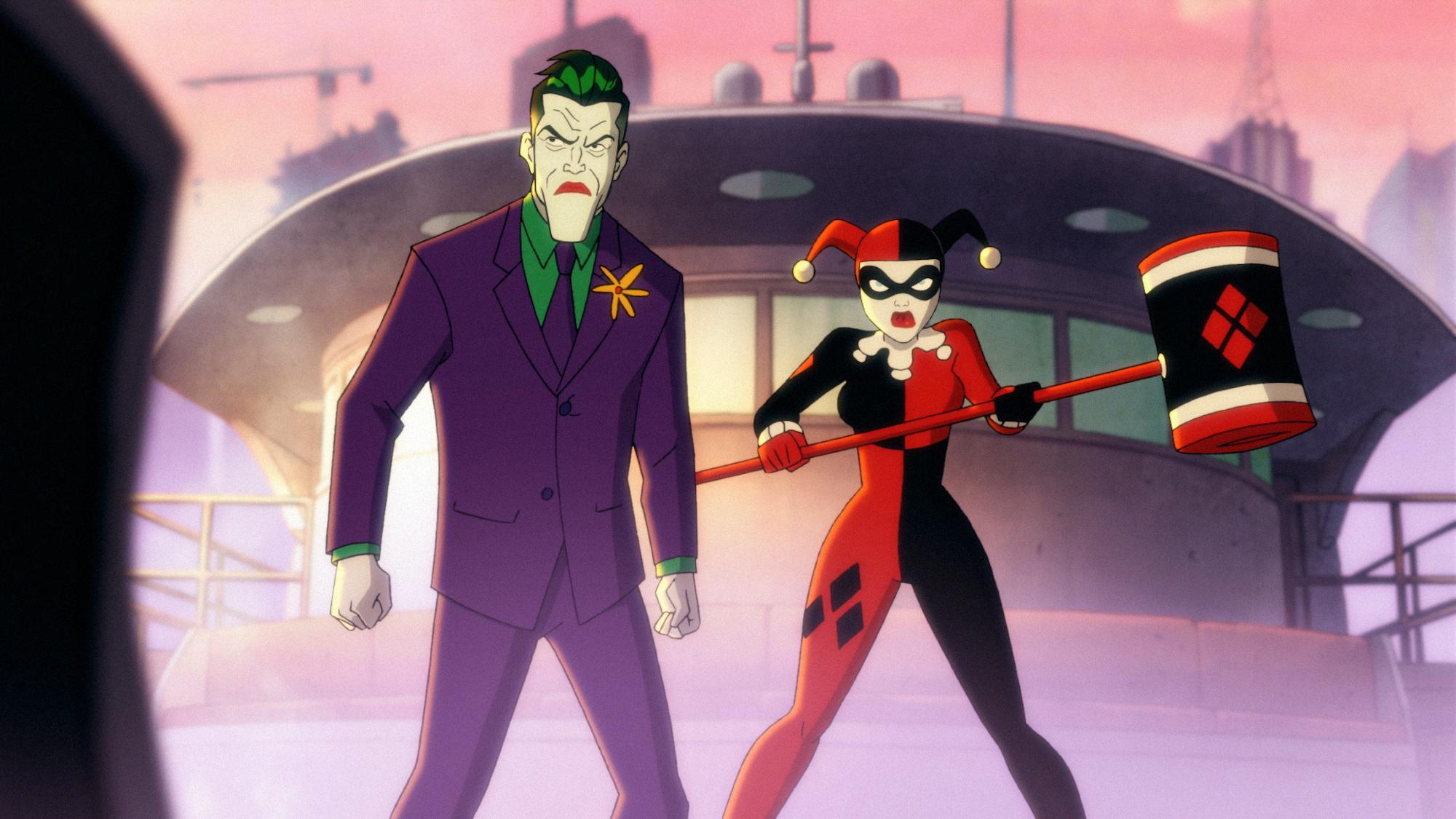 Harley Quinn and the Joker as a team in 'Harley Quinn'