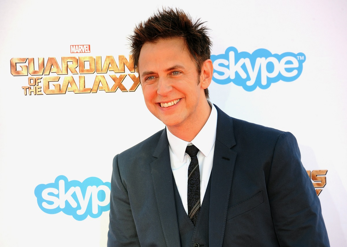 """James Gunn arrives for the premiere of Marvel's """"Guardians of the Galaxy"""" on July 21, 2014, in Hollywood, California."""