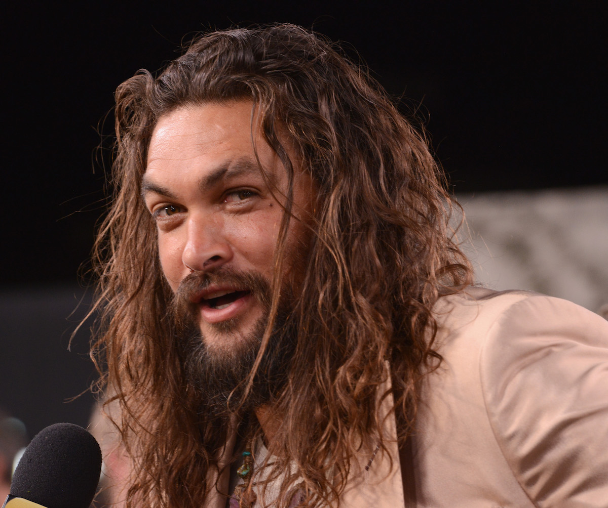 Jason Momoa at the premiere of the Apple TV series See