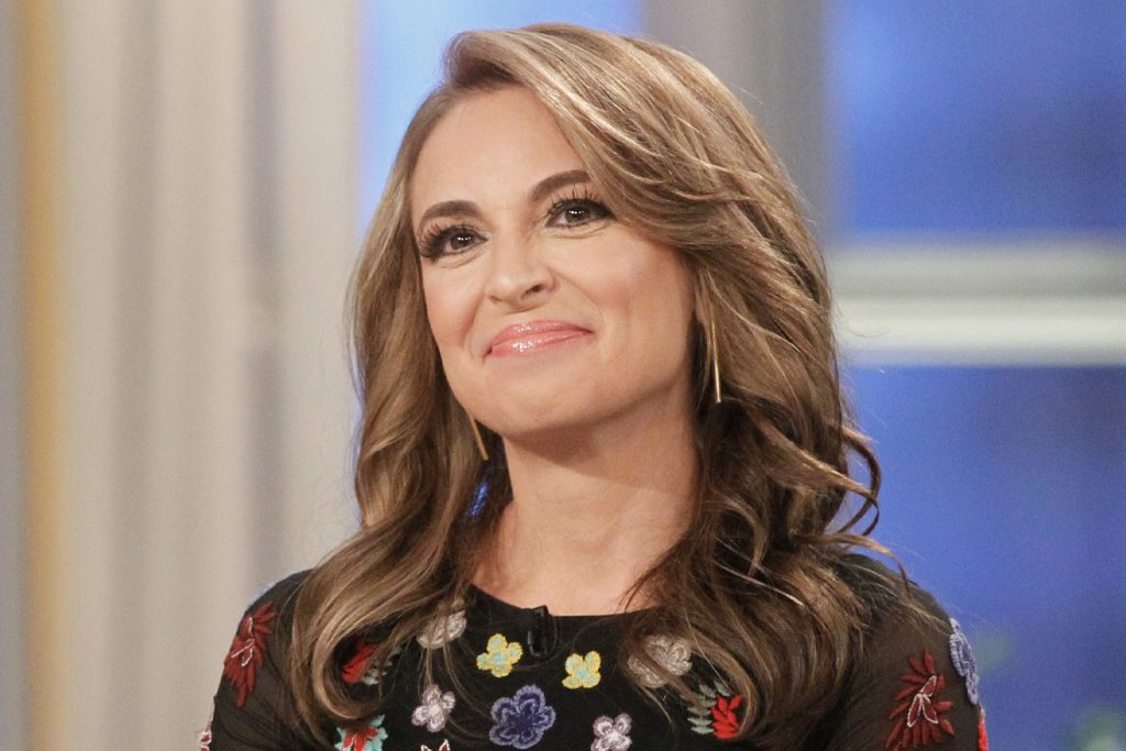 Jedediah Bila on the set of 'The View' in 2016