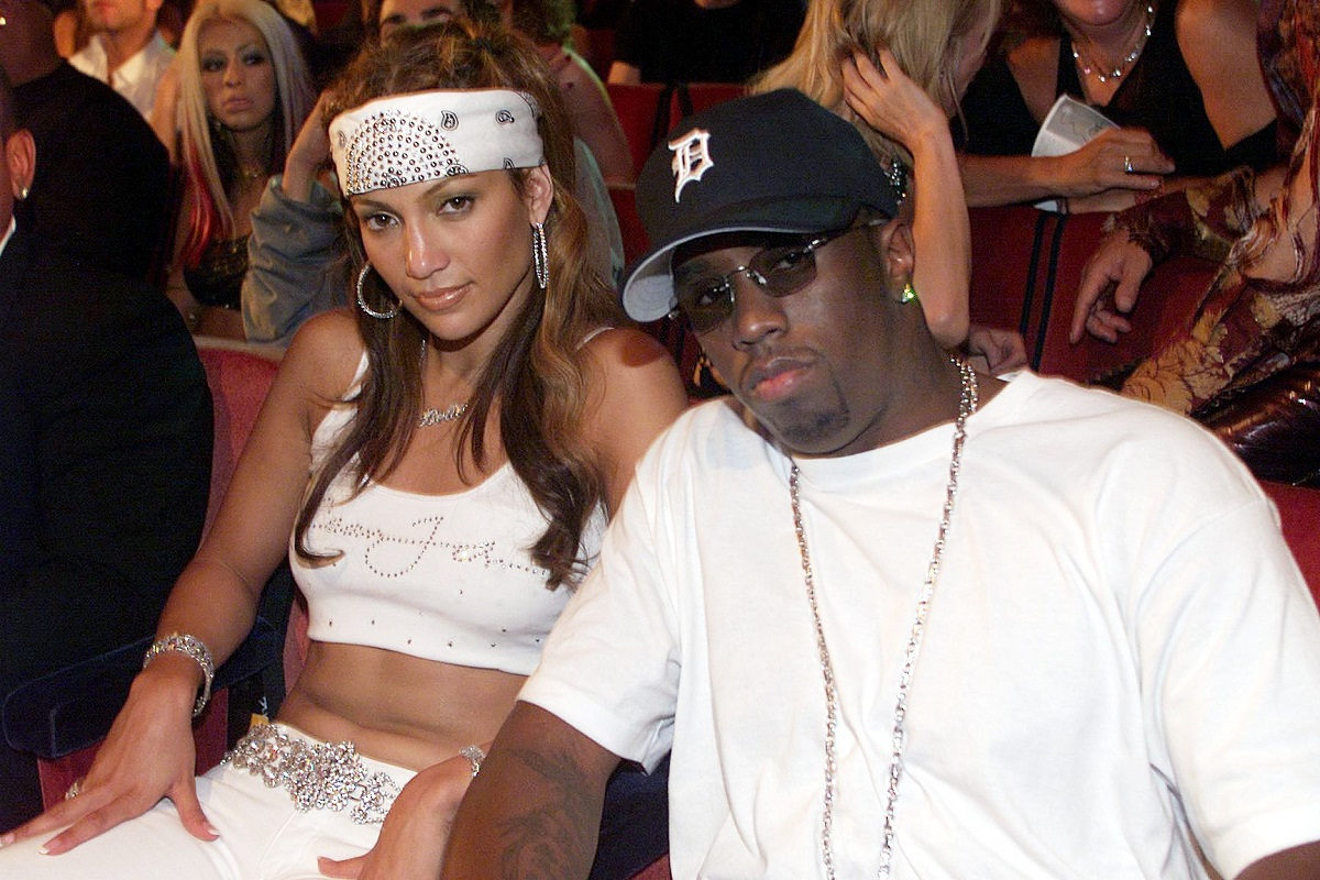 J.Lo and Diddy at the 2000 MTV Video Music Awards