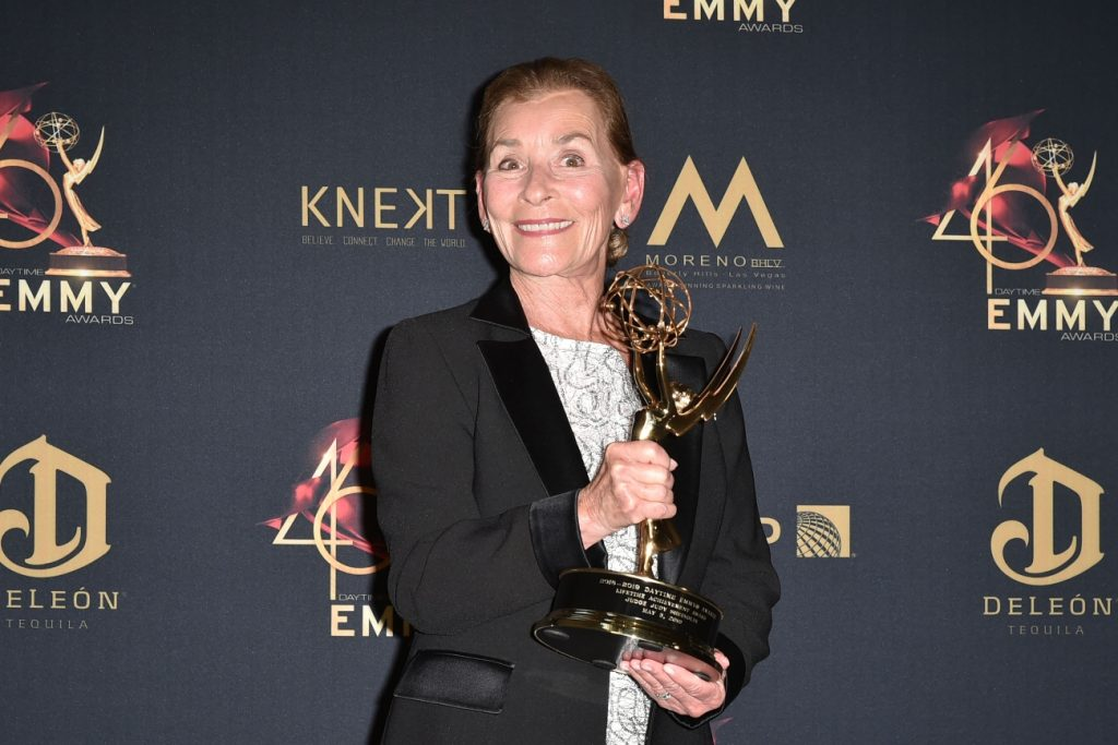 Judge Judy Sheindlin attends the 46th Annual Daytime Emmy Awards in May 2019