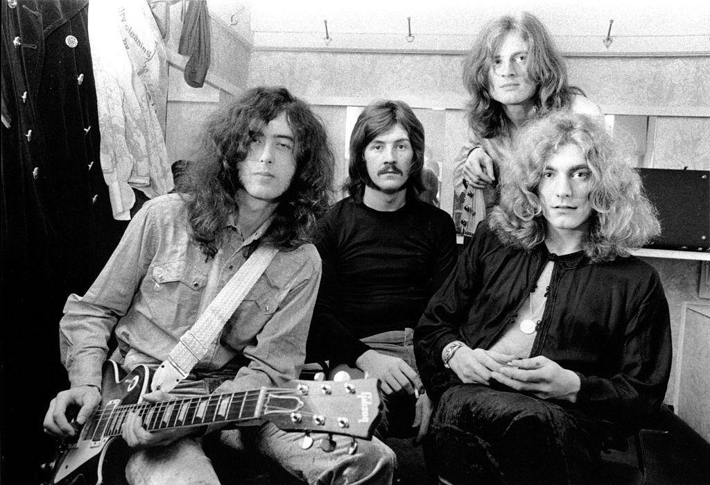 Led Zeppelin sitting