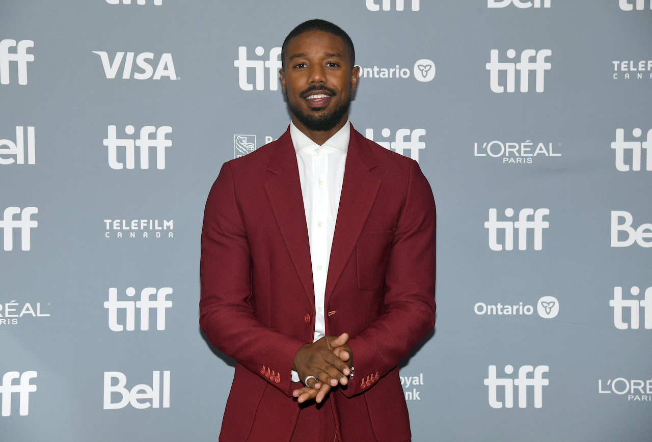 """Michael B. Jordan attends the """"Just Mercy"""" press conference during the 2019 Toronto International Film Festival"""