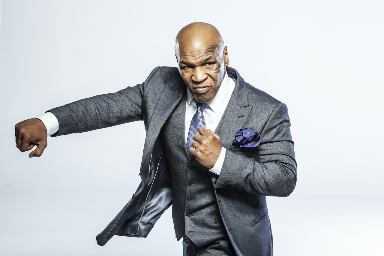 Mike Tyson poses for a portrait in Los Angeles