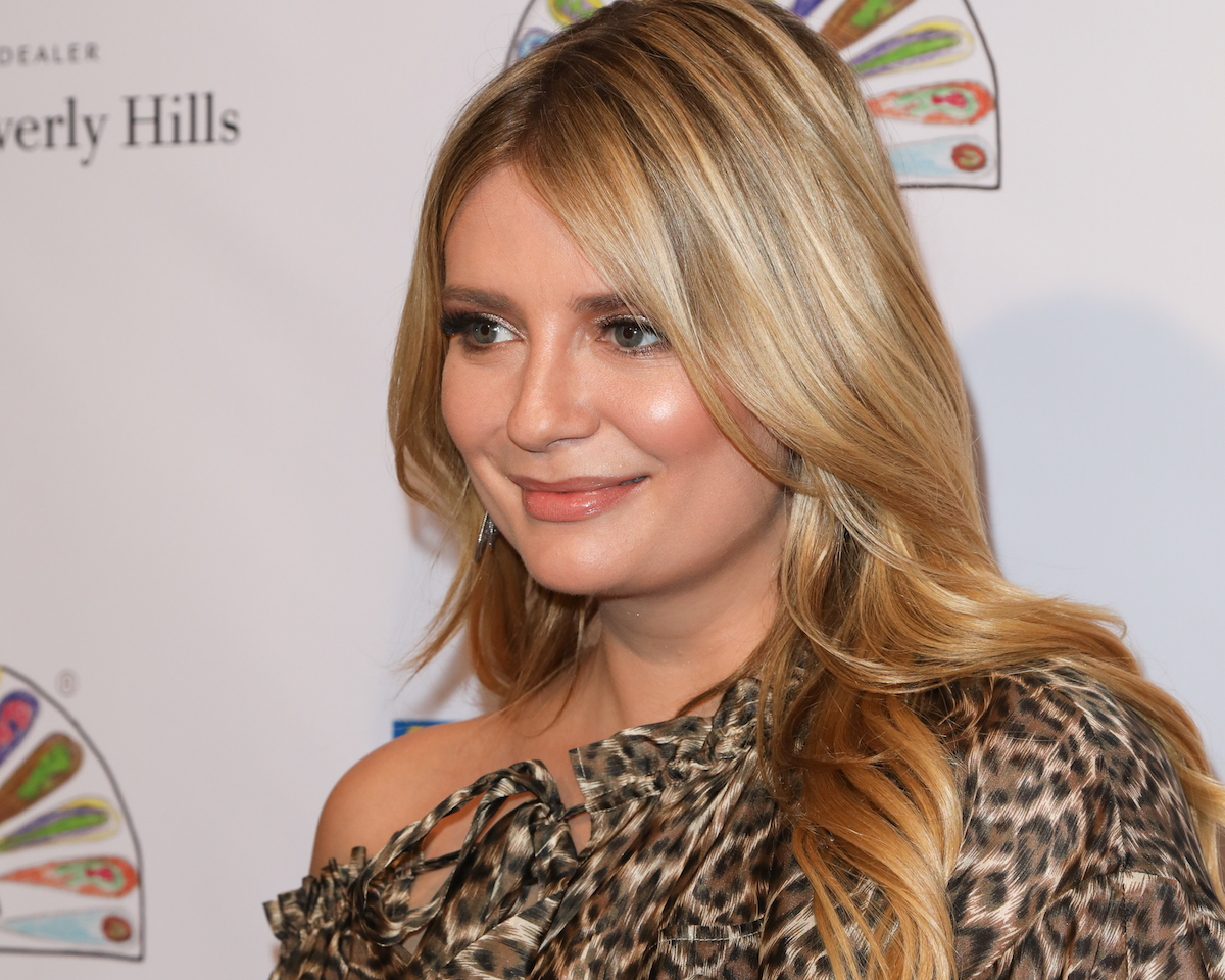 Mischa Barton poses for a photo at an event in Beverly Hills