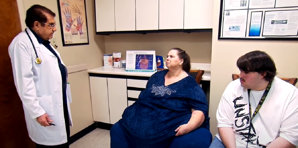 My 600-Lb Life star Pauline Potter with Dr. Now and son Dillon
