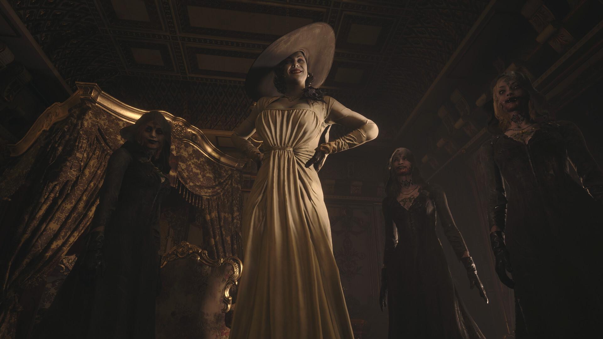 Resident Evil 8 villain Lady Dimitrescu