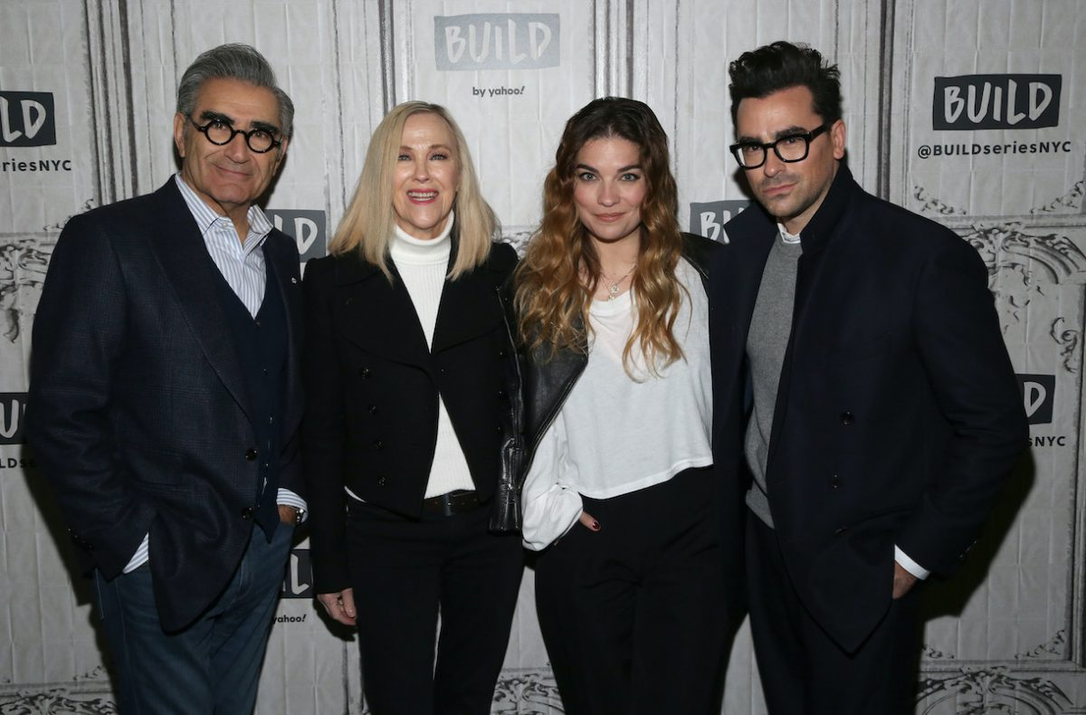 Eugene Levy, Catherine O'Hara, Annie Murphy and Dan Levy