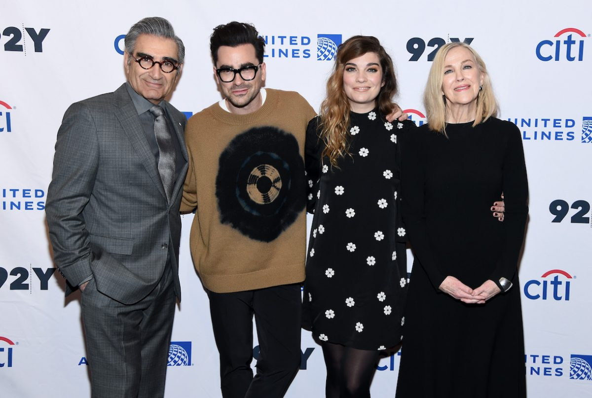 Eugene Levy, Daniel levy, Annie Murphy and Catherine O'Hara attend the 'Schitt's Creek' Screening