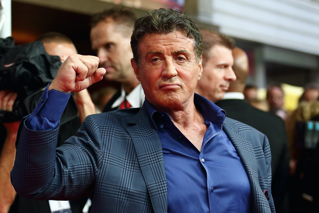 Sylvester Stallone at the premiere of 'The Expendables 3'