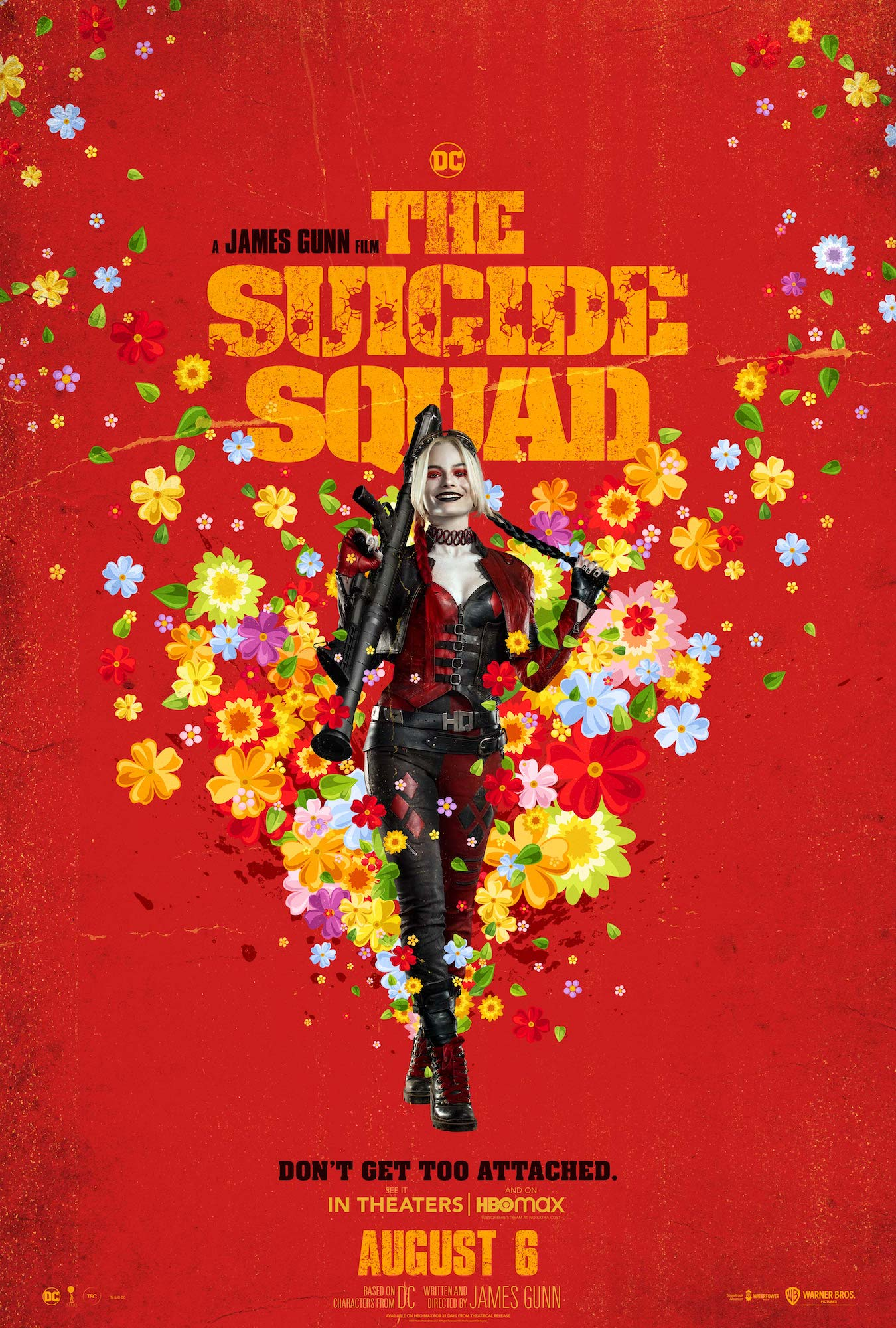 Promotional poster for 'The Suicide Squad'