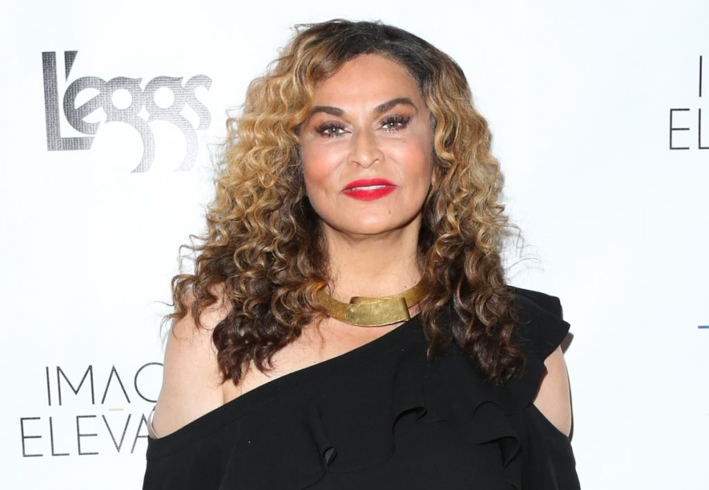 Tina Knowles attends the 2018 release party for Vivica A. Fox's book 'Every Day I'm Hustling'