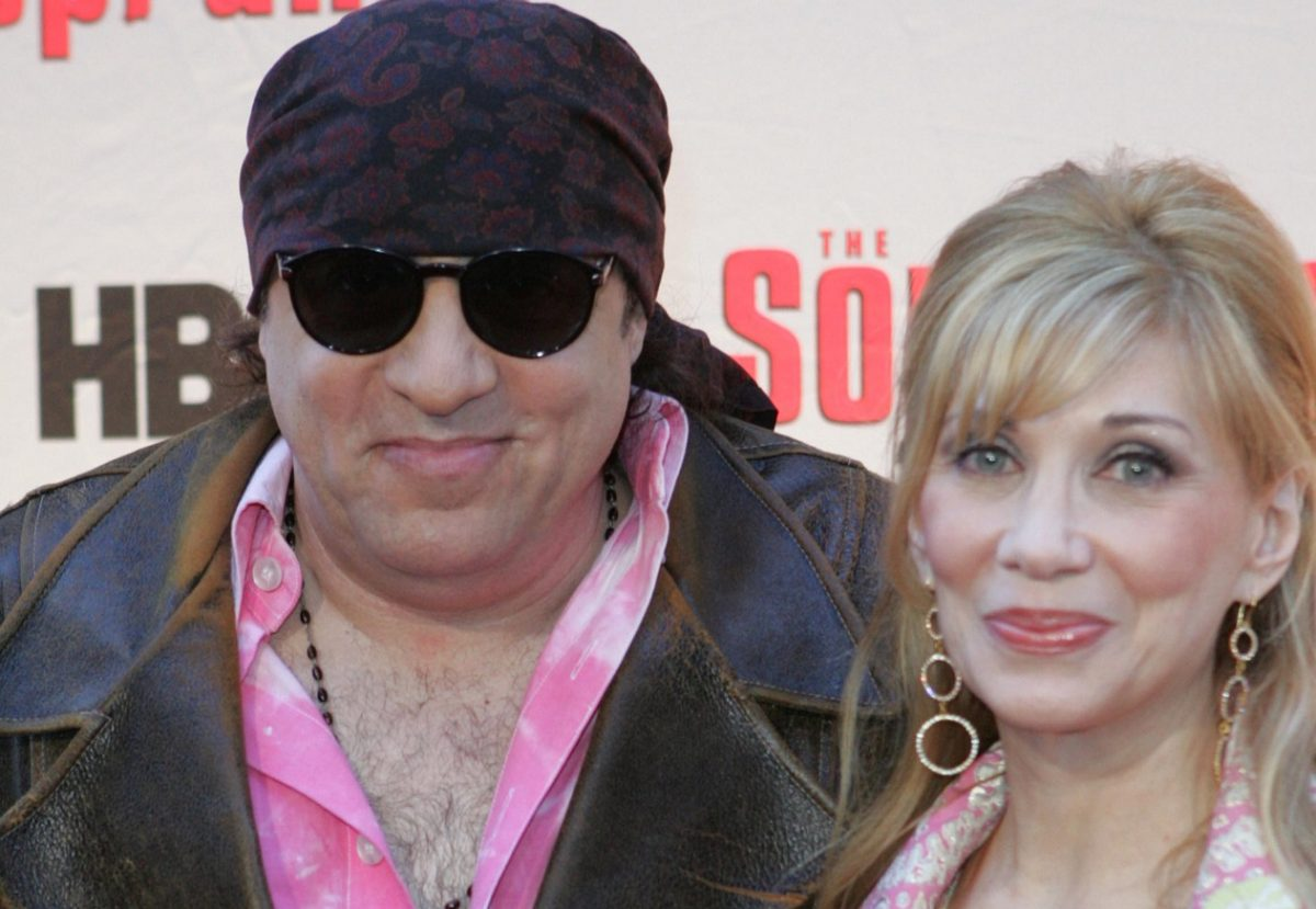 Steve and Maureen Van Zandt at a 'Sopranos' premiere