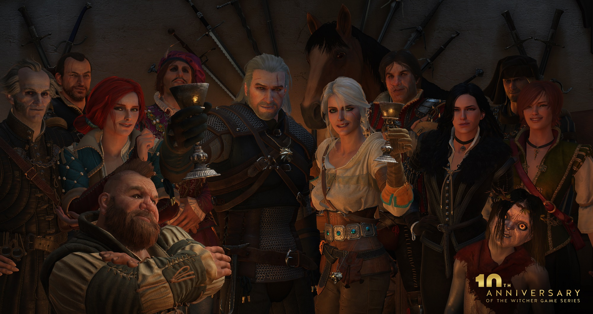 Konrad Tomaszkiewicz was director on The Witcher 3: Wild Hunt by CD Projekt Red