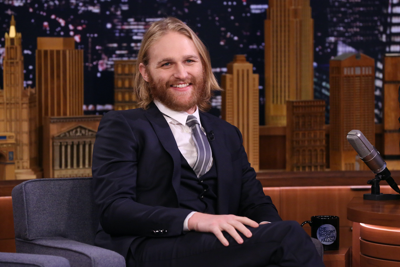 Wyatt Russell during an interview at 'The Tonight Show' on November 13, 2018