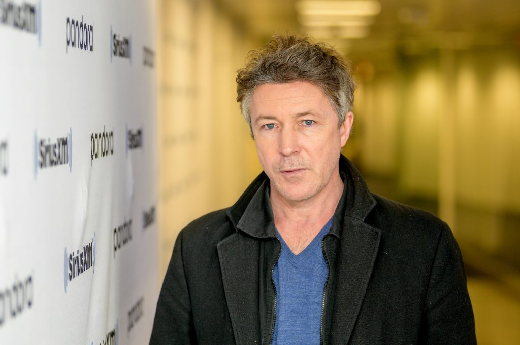 A head shot of Aidan Gillen, Aberama Gold from 'Peaky Blinders' who is not likely to appear in 'Peaky Blinders' Season 6