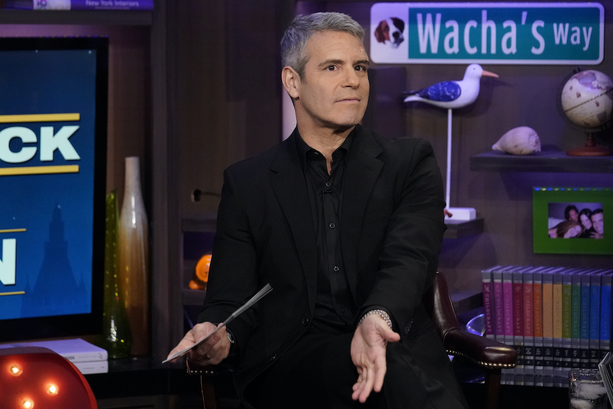 Andy Cohen during a previous Below Deck reunion
