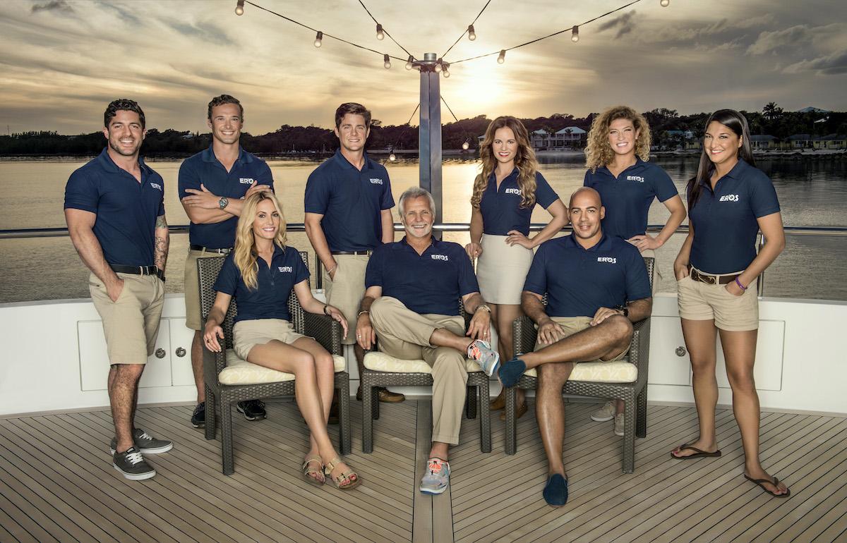 Below Deck Season 3 cast photo: Don Abenante, Emil Kotze, Kate Chastain, Eddie Lucas, Lee Rosbach, Amy Johnson, Leon Walker, Raquel Bartlow, Connie Arias