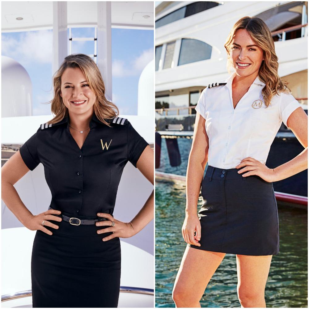Below Deck Mediterranean chief stews: Hannah Ferrier from Season 5 and Katie Flood from Season 6