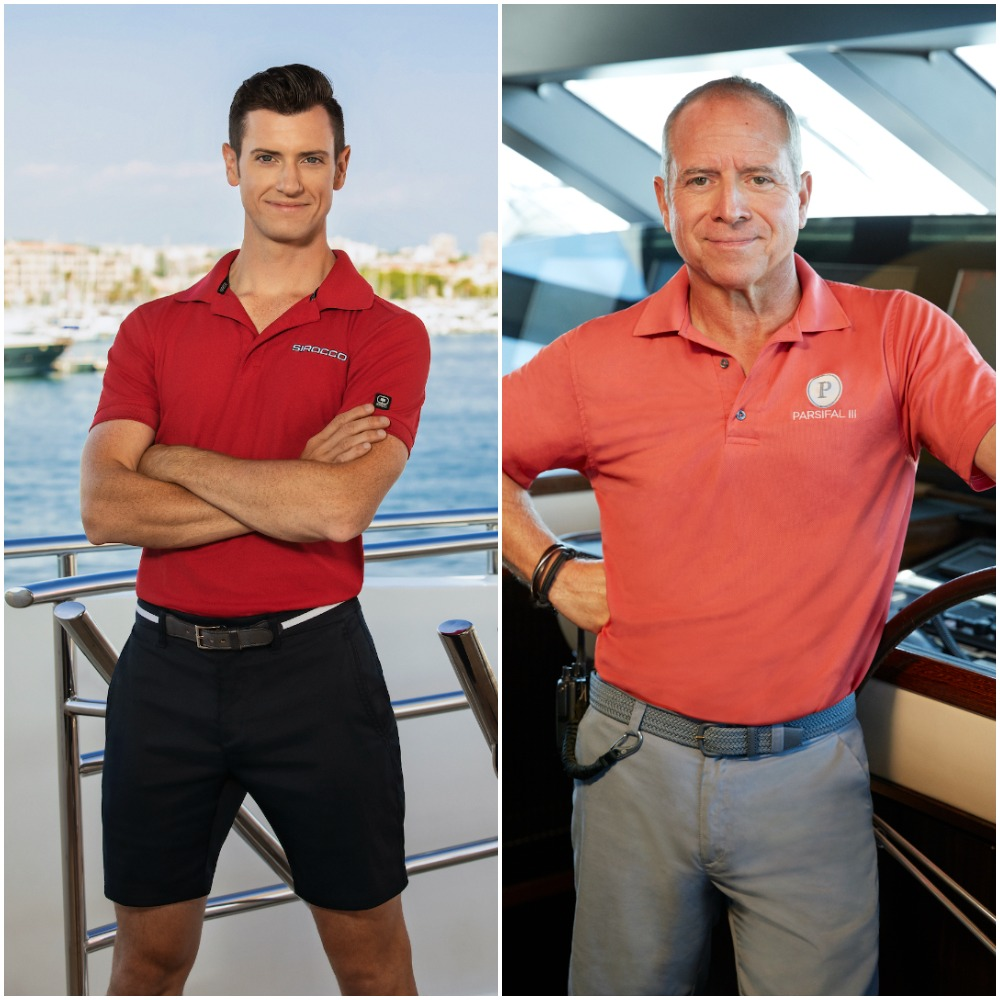 Colin Macy-O'Toole from Below Deck Mediterranean and Captain Glenn Shephard from Below Deck Sailing Yacht