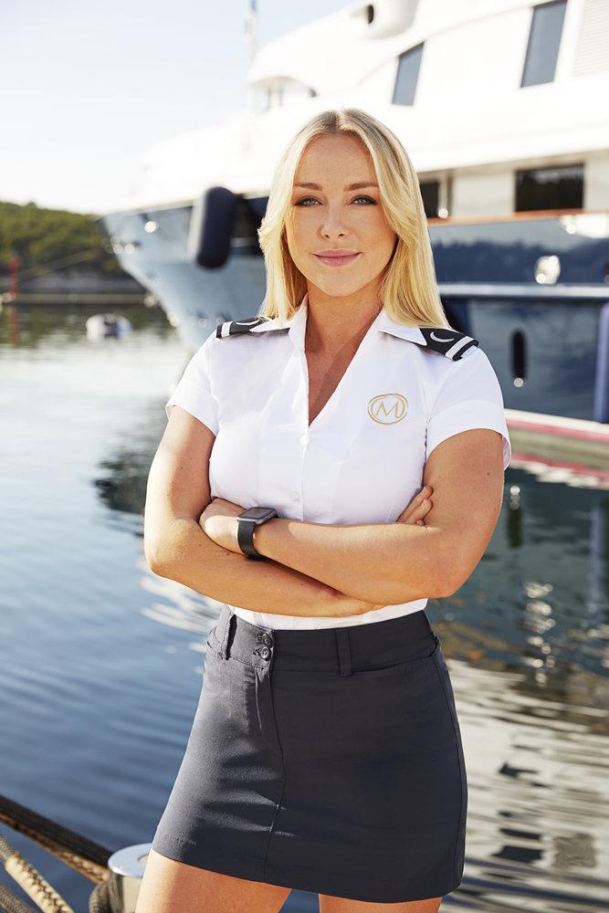 Below Deck Mediterranean Season 6 cast photo of Courtney Veale