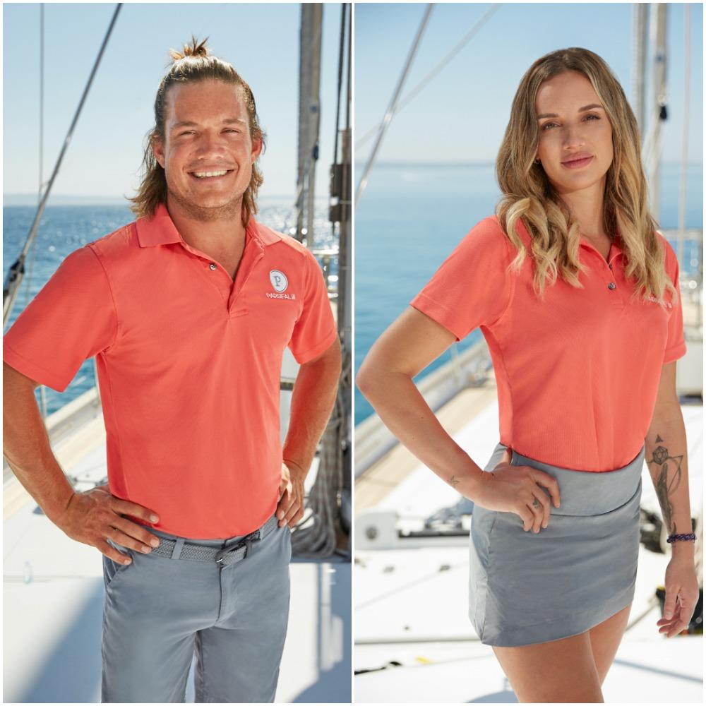 Below Deck Sailing Yacht Season 2 cast photos of Gary King and Alli Dore