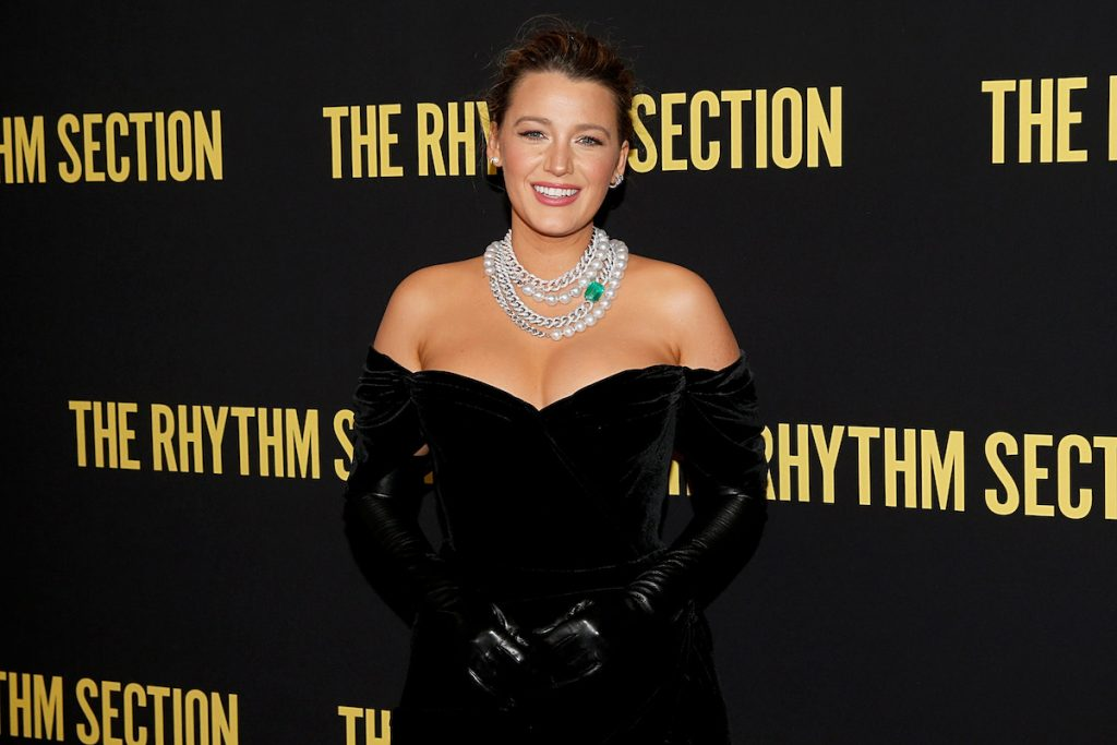Blake Lively at 'The Rhythm Section' screening in New York in 2020