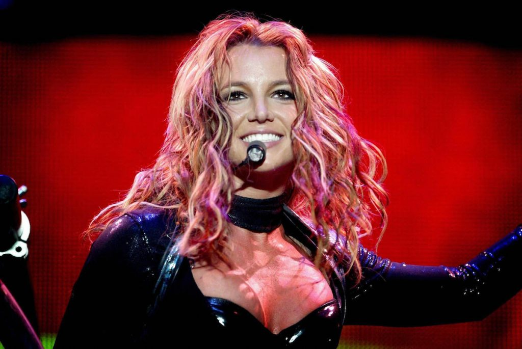 Britney Spears performs in Rotterdam